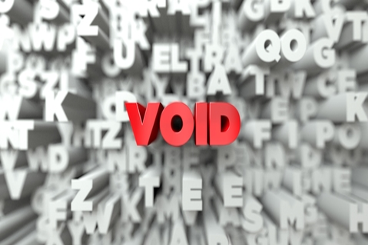 Your #CFAResult is Void: How Not To Fail