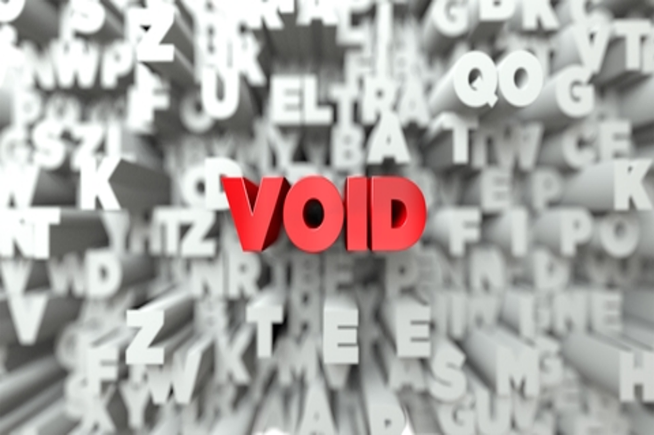 Your #CFAResult Is #Void: How Not to Fail