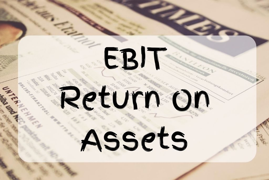 what is ebit return on assets